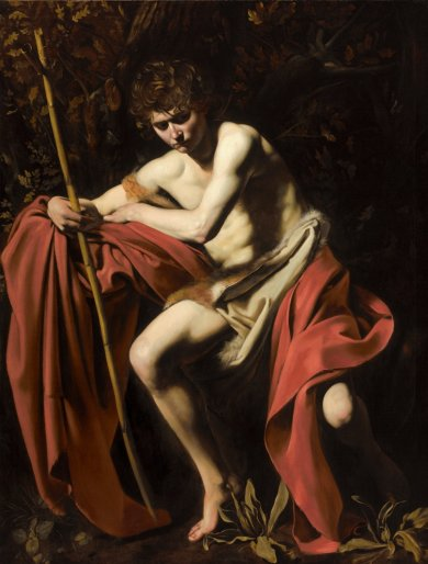 Caravaggio, Saint John the Baptist in the Wilderness
