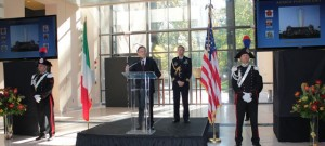 Armed Forces Day at Italian Embassy
