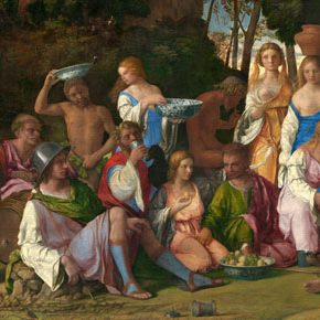Happy Thanksgiving!  The Feast of the Gods by Giovanni Bellini and Titian