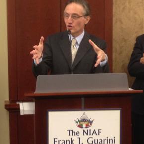 Italian Ambassador Claudio Bisogniero Greets Italian American Congressional Delegation