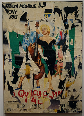 "Mimmo Rotella ""Hot Marilyn"""