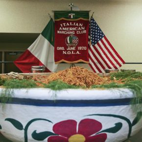 Pasta and present: Italian American St. Joseph Society dines first, walks it off in annual parade