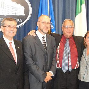 Lisa Monaco, Assistant to the President, Recounts Italian Traditions at 53rd Annual Charles Bonaparte Ceremony at U.S. Department of Justice