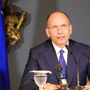 Enrico Letta, Italy's Prime Minister, in Washington Today for Official Visit to White House