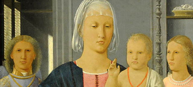 Piero della Francesca – The Senigallia Madonna and Child with Two Angels