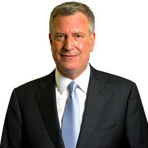 Bill de Blasio 109th Mayor of New York City