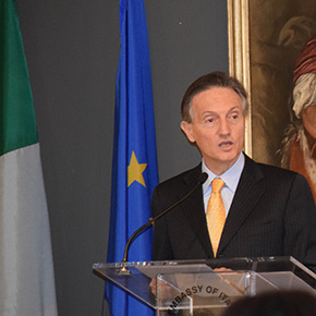 Italian Republic Day Message from Italian Amb Claudio Bisogniero