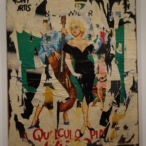 "Mimmo Rotella, ""Hot Marilyn"""