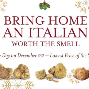 BRING HOME AN ITALIAN WORTH THE SMELL